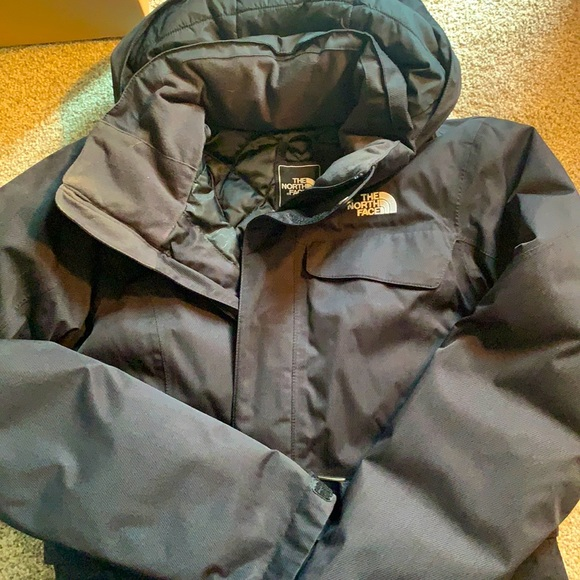 North Face Belted Winter Jacket